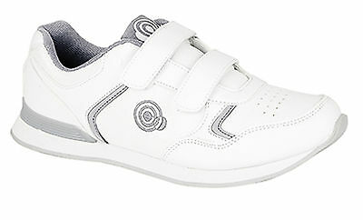 Mens/Ladies Bowling Shoes Velcro Soft  Flat Soles Outdoor/Indoor Size 3 to12 New