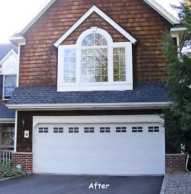 Faux Windaux Decorative Garage Door Windows- Double Kit