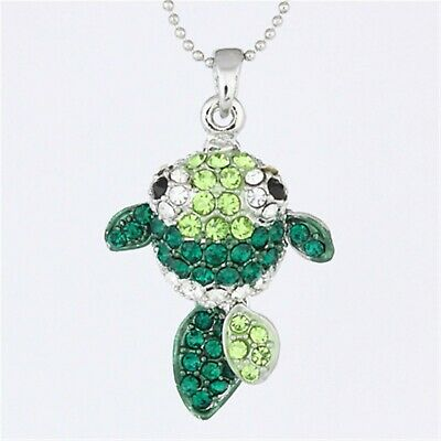 Clear Rhinestone Crystal Movable Sock Monkey Doll Pendant Necklace P846