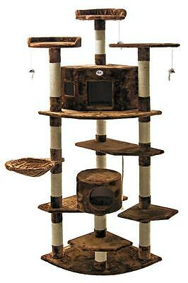 Cat Tree House Toy Bed Scratcher Post Furniture F2031