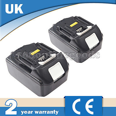 2X 4.0Ah 18V LITHIUM ION BATTERY LXT BL1830 BL1815 FOR MAKITA LATEST PACK UK