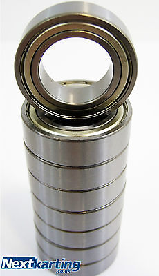 Genuine OTK 25mm - 12mm FRONT WHEEL HUB BEARINGS (6905z) PACK OF 8 - TONY KART
