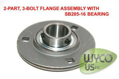 14734 BEARING WITH FLANGE,741-04566,4130975,7740012,02000487 LOT of 2