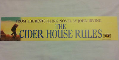 The Cider House Rules, Large (5X25) Movie Theater Mylar Banner/Poster