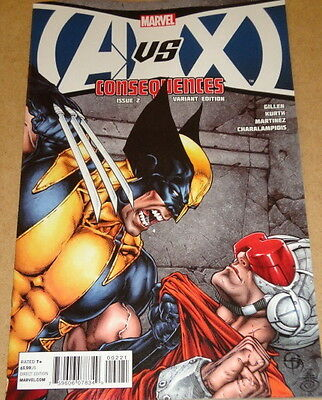 Avx Consequences # 2 - Cover B (1:30) Variant - Marvel Comics