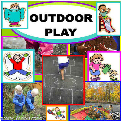 OUTDOOR PLAY Teaching resources NEW EYFS FRAMEWORK 2012 Maths Letters and sounds
