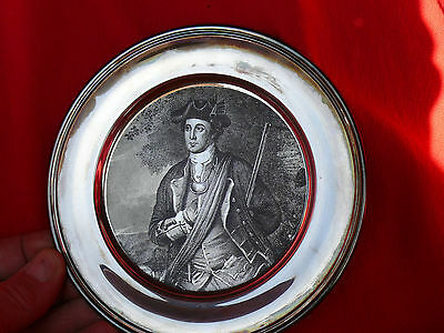 Vintage S Kirk & Son Collection AMERICAN COLONIAL SOLDIER Sterling Silver Plate