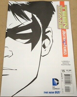 Teen Titans # 15 - Cover B (1:25) Variant - Death Of The Family - Dc