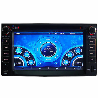 """6.2"""" Car Stereo DVD Player For KIA Spectra 5 2003-2009 With GPS Navigation Radio"""