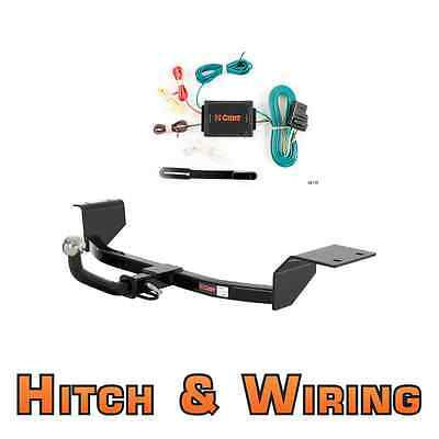 """Curt Class 1 Trailer Hitch & Wiring Euro kit w/ 2"""" Ball for Toyota Celica & Echo"""