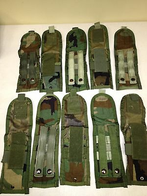 US MILITARY WOODLAND Double Magazine Pouch Five (5)-Pack