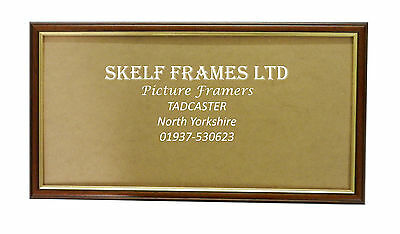 12'' x 6'' PANORAMIC WOOD PICTURE PHOTO POSTER FRAME with Glass