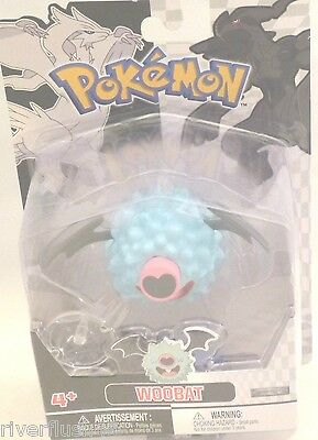Pokemon Woobat Ages 4+ Figure Singlepack Character New In Box Childs Toy
