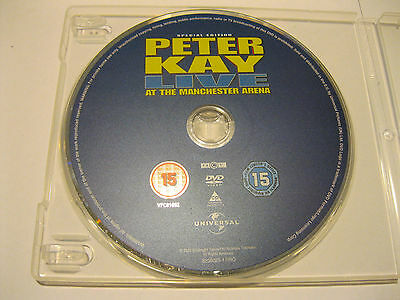 PETER KAY - live at THE MANCHESTER ARENA {DVD}