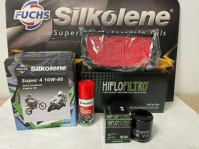 Honda Blackbird Service Kit 99-06 Including Free Chain Lube