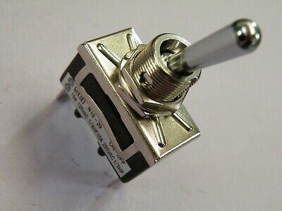 High Current Toggle Switch 10A 250v 20A 12v SPST on-off Chrome Dolly STS-10  913