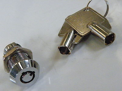 Key Operated Security Barrel Switch SPST On-Off 2 position 2 Keys KE-SPST    906