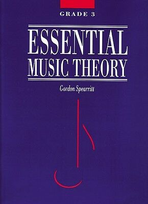 Essential Music Theory Grade 3 - Gordon Spearritt Book *NEW* AMEB syllabus