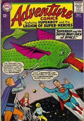 Adventure Comics # 332 - May 1965 - Vg+