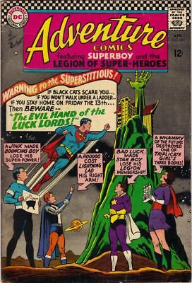 Adventure Comics #343 - April 1966 - Vg+