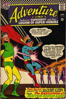 Adv Enture Comics # 345 - June 1966 - F