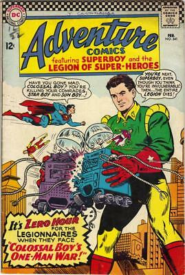Adventure Comics  #341 - Feb. 1966 - Vg+