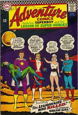 Adventure Comics #342 - March 1966 - Vg+