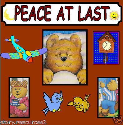 PEACE AT LAST letters & sounds phase 1 EYFS Teaching resources KS1 Resource cd