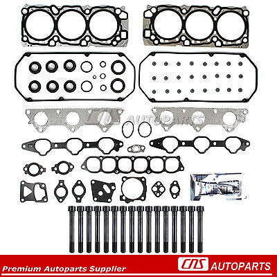 MLS Head Gasket Set Bolts Fits 97-04 Mitsubishi Montero Sport Diamante 3.5 6G74