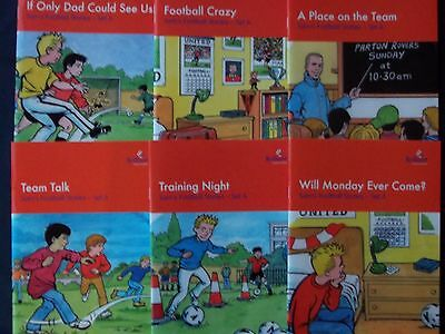 Sam's Football Stories - Set A! Collection of 6 books aimed at reluctant readers