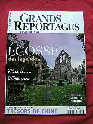 Grands Reportages,n°283,ecosse,aout 2005