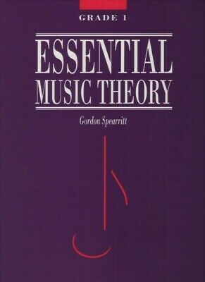 Essential Music Theory Grade 1 - Gordon Spearritt Book *NEW* AMEB syllabus