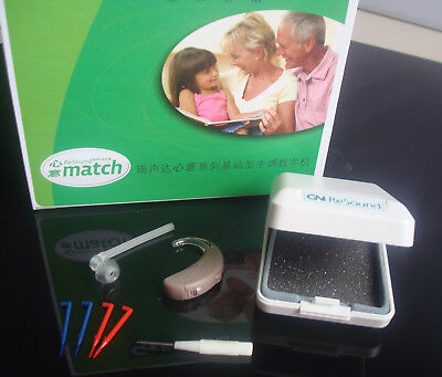 GN ReSound Match OPEN Fit Hearing Aid Right ear HIGH Power Moderate Severe Small