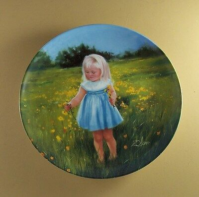 Special Moments Collection MEADOW MAGIC Plate #4 Donald Zolan Pemberton & Oakes