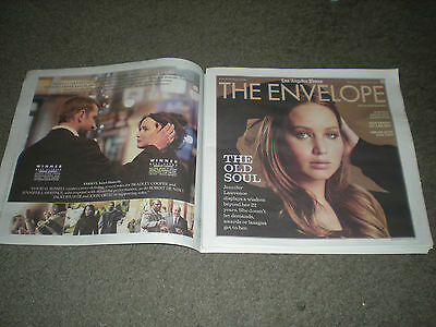 Jennifer Lawrence - Ad Supplement Interview - The Envelope - L.a. Times
