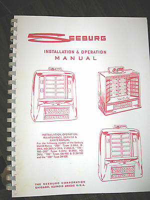 Seeburg Wall Box  Manual 11 Model Types