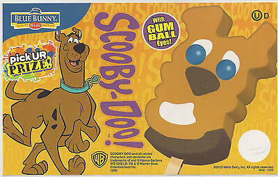 Scooby Doo, With Gumball Eyes, Ice Cream Truck/Concession Vinyl Decal/Sticker