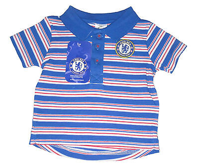 Baby Boys Polo Top T-Shirt Chelsea 3-23 Months