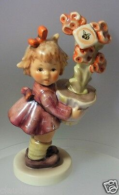 "M.I.HUMMEL   ""BEST WISHES - APRIL 1997 EVENT PIECE 12.0cm TALL - SIGNED"" HUM 540"