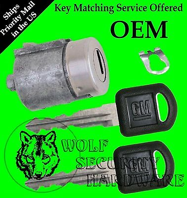 Chevy GMC OEM Single Door Key Lock Cylinder 2 Keys Key Matching Service Offered