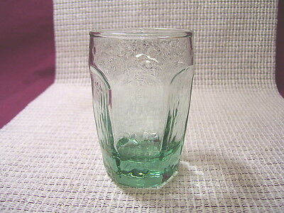 Libbey Crystal Chivalry Green Juice Glass 3 1/2""