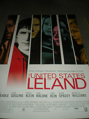 The United States Of Leland - Original Ss Theatrical Poster - Ryan Gosling