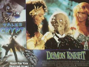DEMON KNIGHT - Tales from the Crypt - 11x14 US Lobby Cards Set - HORROR