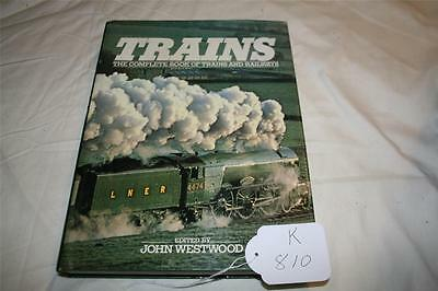book on train the complete book hard cover good reading [k810]