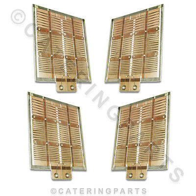 Set Of Old Style Heating Elements For Dualit 3 Slot Classic Toaster 4 X Elements
