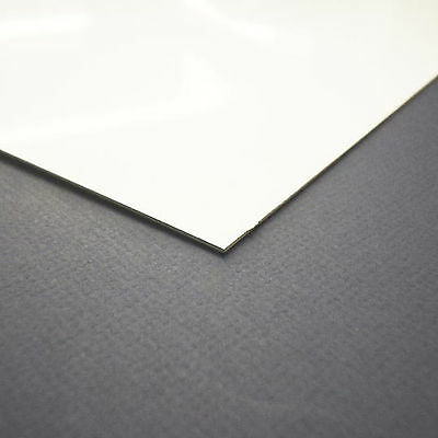 3 X White PVC Hygienic Wall Cladding 1.5mm Thick 1960 x 855mm White Gloss