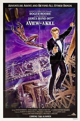 A View to a Kill 1985 U.S. One Sheet Poster