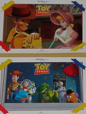 TOY STORY - Lobby Cards Set - PIXAR - WALT DISNEY - Animation - John Lasseter