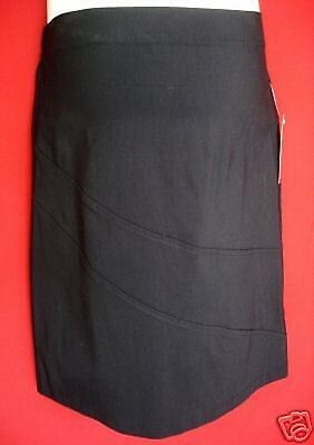 Maternity BLACK knee length skirt size 18 Half price NEW