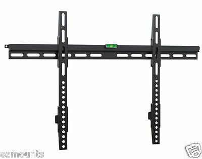 Super Flat Ultra Slim LCD LED TV Wall Mount - Fits Any TV Vesa 600 x 400 Smaller